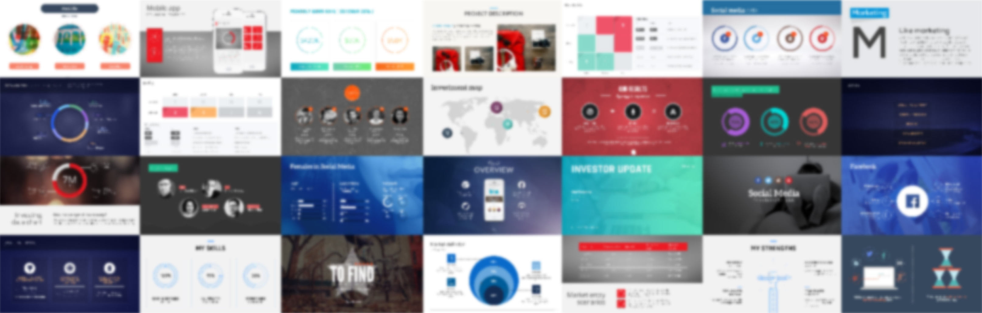 The 22 best powerpoint templates for 2018 improve presentation wajeb Choice Image