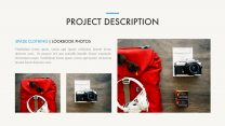 Portfolio Presentation Template example