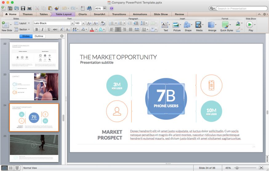 Powerpoint templates for mac improve presentation company template for mac toneelgroepblik Gallery